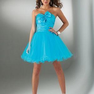 Flirt Turquoise Dress